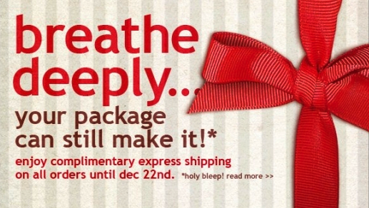 psychology of online shopping - shipping dates