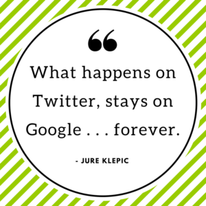 marketing quote to live by, Jure Klepic